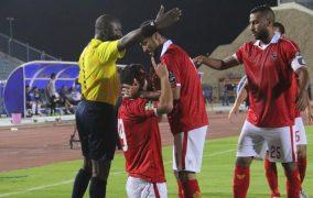 الأهلى يهزم الترجى 2-1 ويتأهل لنصف نهائى بطولة أفريقيا