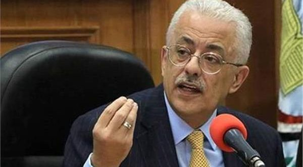 وزير التربية والتعليم د.طارق شوقي